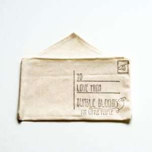 Fabric postcard pouch by Bumble Blooms
