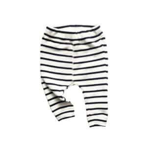Breton stripe pants by Organic Zoo (flatlay)