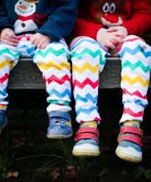 Chevron leggings by Lil' Cubs