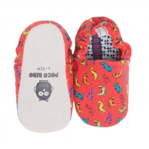 Dinosaur mini shoes by Poco Nido (top & sole)