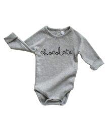 Grey 'Chocolate' Body by Organic Zoo (flatlay)