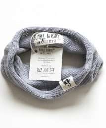 Grey snood by Bumble Blooms