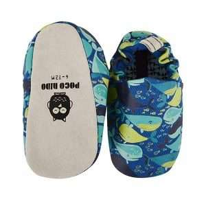 Whale mini shoes by Poco Nido (top & sole)