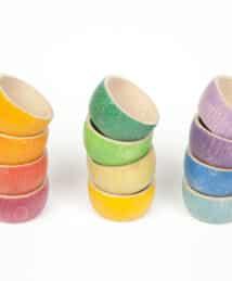 © Joguines Grapat: 12 Rainbow Bowls