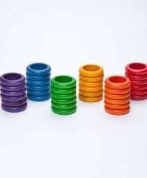 36 Grapat Rainbow Rings