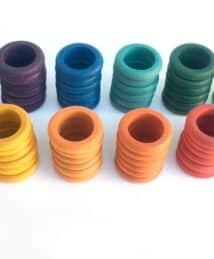 © Joguines Grapat: 72 Rainbow Rings