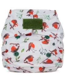 Baba+Boo Newborn Reusable Nappy - Robins