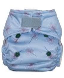 Baba+Boo Newborn Reusable Pocket Nappy - Dandelions (Hope Collection)