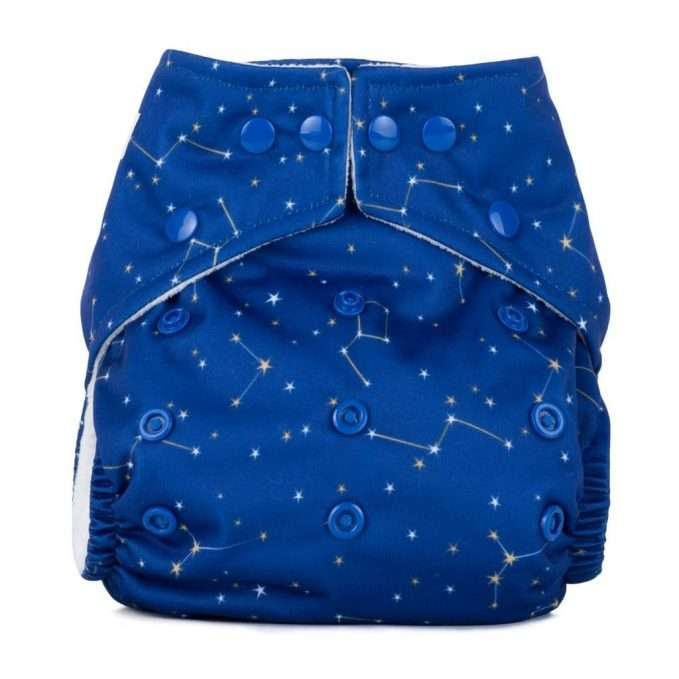 Baba+Boo One Size Constellations Reusable Nappy