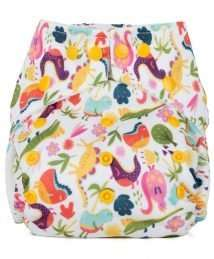 Baba+Boo One Size Dinosaurs Reusable Nappy