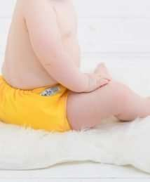 Baba+Boo One Size Reusable Cloth Nappy - Yellow