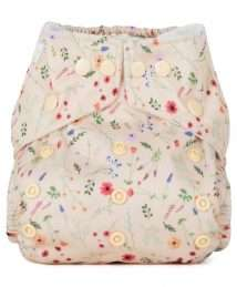 Baba+Boo One Size Wildflowers Reusable Nappy