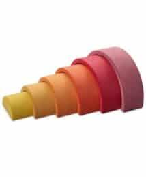 Ocamora 6 piece rainbow (pink)