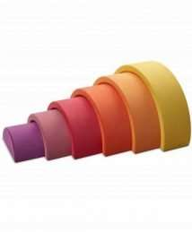 Ocamora 6 piece rainbow (yellow)