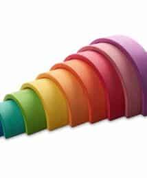 Ocamora 9 piece rainbow (purple)