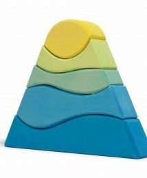 Ocamora Blue & Yellow Stacking Mountain