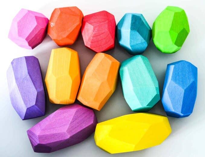 Ocamora Multi-Coloured 'Teniques' (Set of 12)
