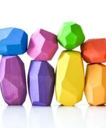 Ocamora Multi-Coloured 'Teniques' (Set of 12)