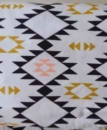 KrokoHome Organic Navajo Fitted Cot Sheet 120 x 60cm