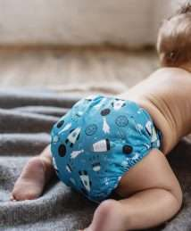Baba + Boo shoot for the moon nappy