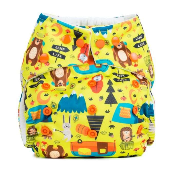 Baba+Boo Camping One Size Reusable Nappy