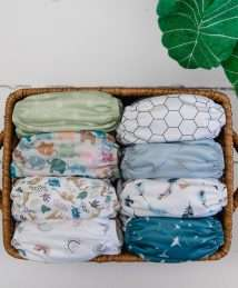 Baba+Boo One Size Reusable Pocket Nappy - Hope Collection (2)