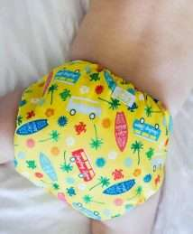 Surf's Up cloth nappy