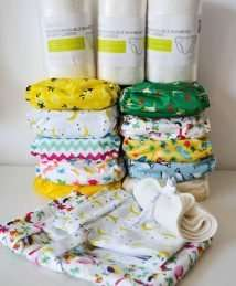 Baba+Boo cloth nappy starter kit (10 nappies)