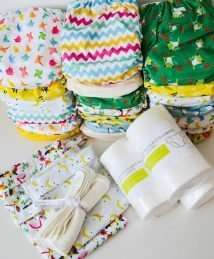 Baba+Boo cloth nappy starter kit (20 nappies)