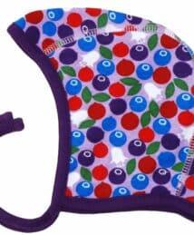 Blueberry Purple Baby Cap Bonnet by Duns Sweden