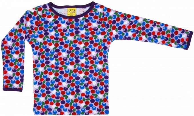 Blueberry Purple Long Sleeve Top by Duns Sweden