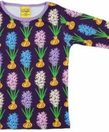 Hyacinth Dark Purple Long Sleeve Top by Duns Sweden