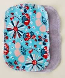KrokoBaby organic cotton reusable wipes (terry cloth)