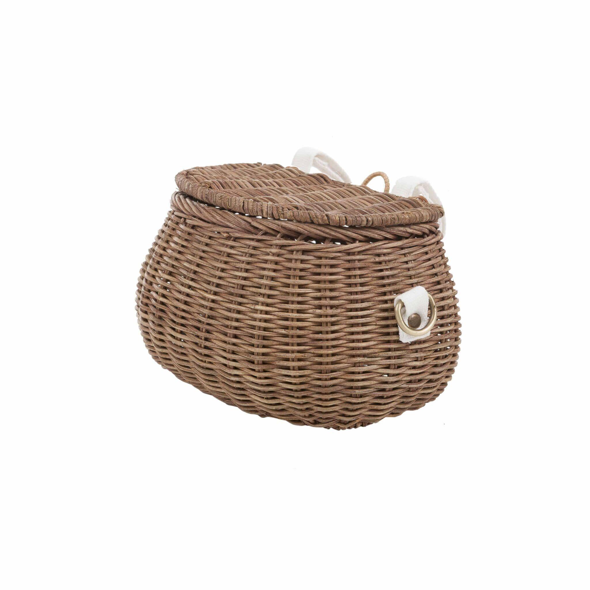 Olli Ella Mini Chari Natural Basket For Kids ⋆ Krokokinder