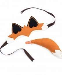 Finlay Fox dressing up set by Sew Heart Felt