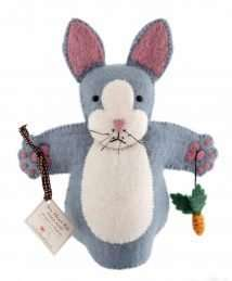 Rory Rabbit hand puppet by Sew Heart Felt