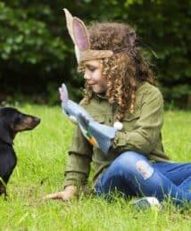 Rory Rabbit hand puppet by Sew Heart Felt