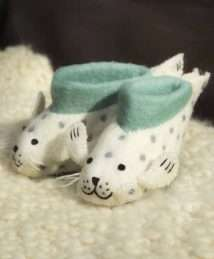 Sally Seal Slippers by Sew Heart Felt