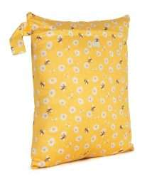 Baba+Boo Daisies Reusable Nappy Bag - Medium
