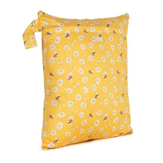 Baba+Boo Daisies Reusable Nappy Bag - Medium