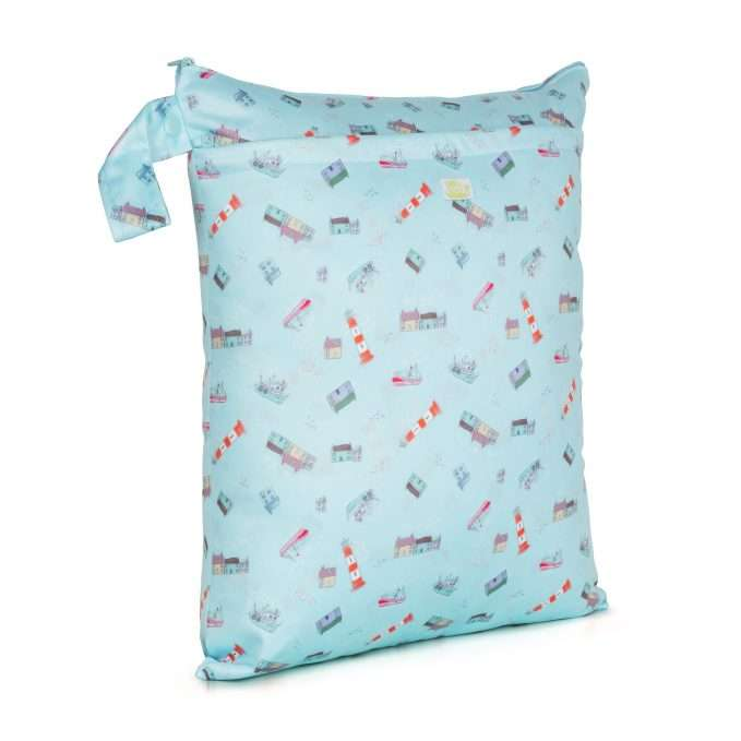 Baba+Boo Harbour Reusable Nappy Bag - Medium