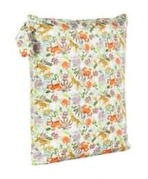 Baba+Boo Jungle Friends Nappy Storage Bag - Medium Double Zip