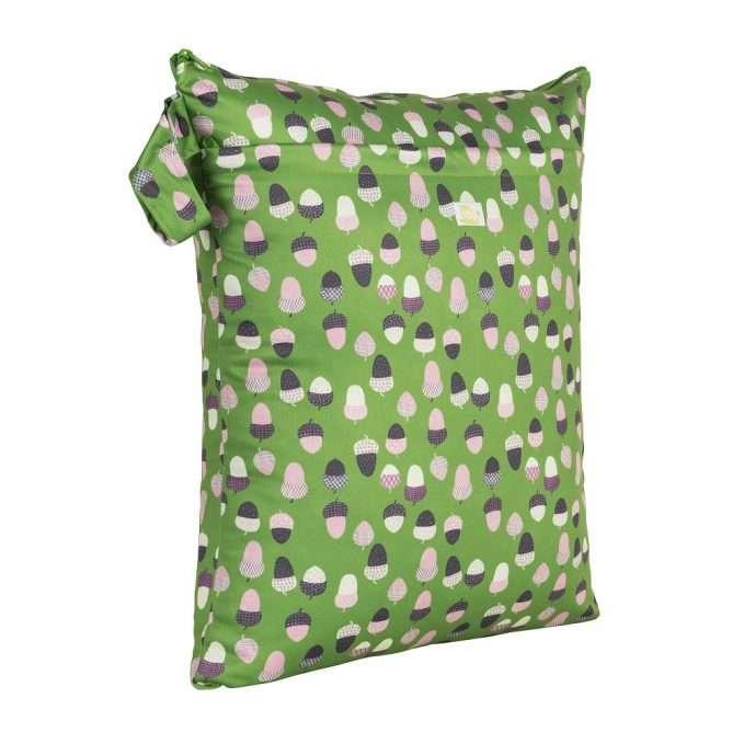 Baba+Boo Medium Reusable Nappy Bag - Acorns