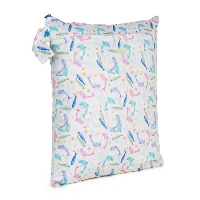 Baba+Boo Sea Life Reusable Nappy Bag - Medium