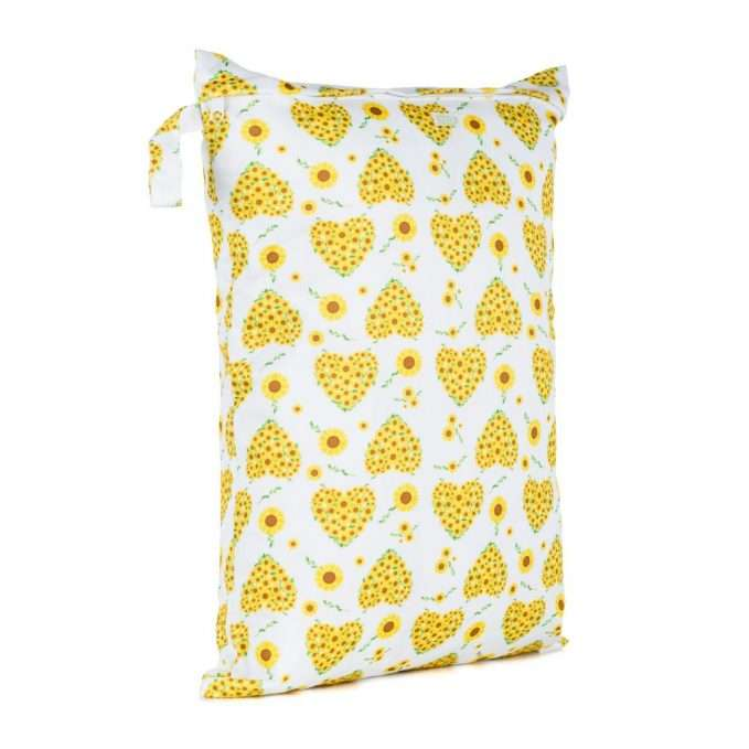 Baba+Boo Sunflowers Nappy Storage Bag - Large