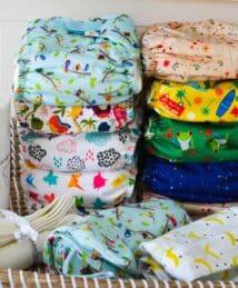 Newborn Cloth Nappy Starter Kit (10 Nappies)