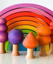 Ocamora tree and rainbows