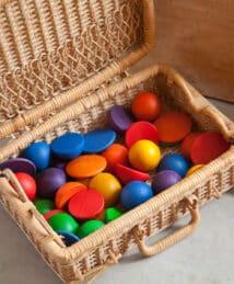 Grapat Rainbow Rounds (30-Piece Set)