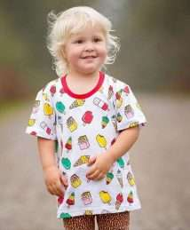 Lil' Cubs Retro Lollies (Red) t-shirt