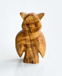 Predan large wooden owl